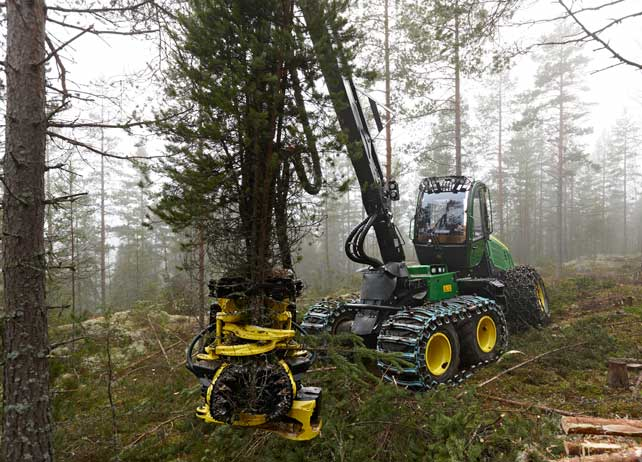 Multi-tree-handling boosts productivity in first thinnings