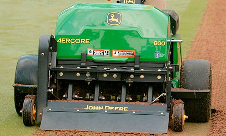 Got acres and acres of aeration ahead of you?