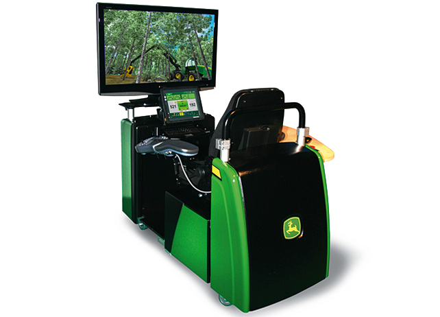 Harvester and Forwarder Simulator