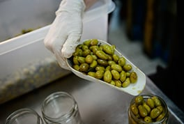 Simply tasty – pickled olives.