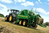 John Deere Large Square Balers, 1 + 2 Annuals @ 0% on 50% RRP