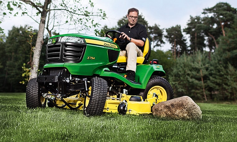 The most durable and reliable diesel mowing tractor