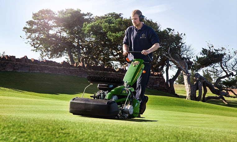 Walk Behind Greens Mowers