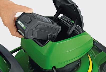 Battery Walk Behind Mower R43B – clean power